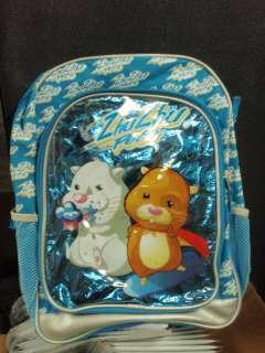 ZHU ZHU BLUE BOOKBAG FOR SCHOOL BRAND NEW