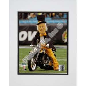 Wake Forest University Demon Deacon Mascot 2007 Double Matted 8 x