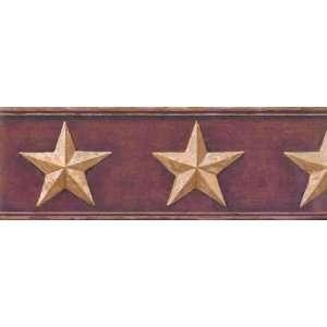 Tin Barn Star Wallpaper Border: Home Improvement