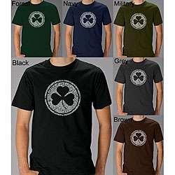 Los Angeles Pop Art Mens Irish T shirt