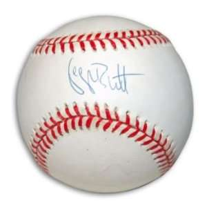 George Brett Signed American League Baseball Everything Else