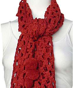 Lucky Brand Jeans Crocheted Scarf  Overstock