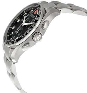 Victorinox Swiss Army Mens ChronoGraph Classic 40mm Black Dial Date