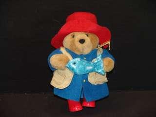 NEW EDEN PADDINGTON TEDDY BEAR FISHING PLUSH STUFFED ANIMAL TOY