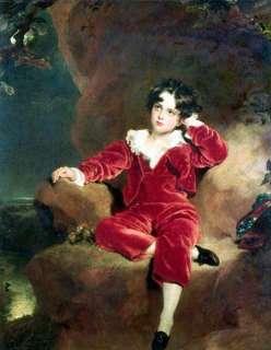 Master Lambton thomas lawrence oil painting repro