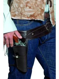 Western Cowboy Authentic Holster/Belt Adult Costume Set