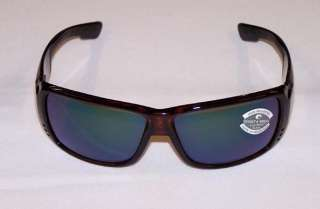 Costa Del Mar Sunglasses Double Haul 580 Glass Green Mirror Tortoise