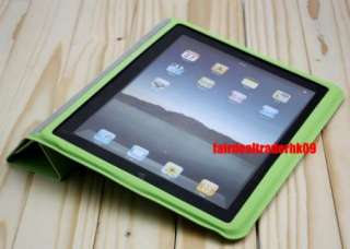 Smart Cover Stand Full Body Case for iPad 2 3 Magnetic 5 Colors