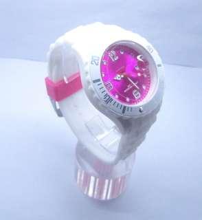 FASHION Silicone Quartz Wrist Quartz Watch Unisex With Calendar