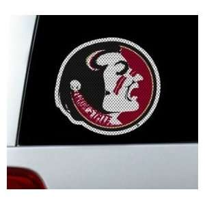 Florida State Seminoles Die Cut Window Film   Large