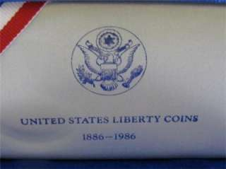 STATES US LIBERTY ELLIS ISLAND HALF & DOLLAR SILVER COIN SET