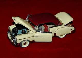 DIE CAST EXACT REPLICA 1:24 CHEVROLET BEL AIR 1950 AS IS/REPAIR