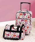 1980s Hallmark HUGGA BUNCH Free Hugs Girls Kids Purple Suitcase Bag