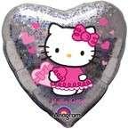 HEART HELLO KITTY birthday balloon party supplies NEW