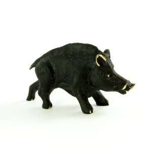 Walter Bosse Brass Wild Boar Figurine
