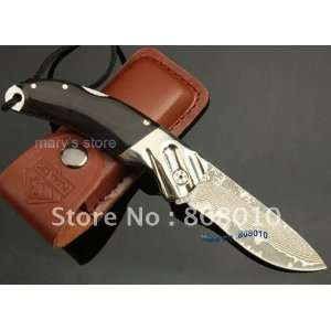 damascus steel knife folding knife outdoor knife camping knife knives