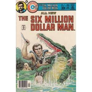 Comics   Six Million Dollar Man #4 Comic Book (Dec 1976