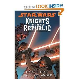Star Wars Knights of the Old Republic Volume 3 Days of