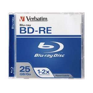 O VERBATIM O   Disc   Blu ray   Single Layer   25GB   Rewritable
