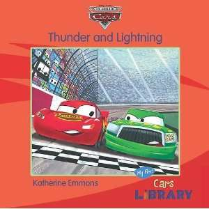 Disney Pixar Cars Thunder and Lightning (9781407574776