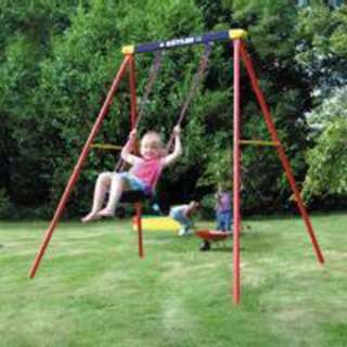 Deluxe Single Swing Set Outdoor Play