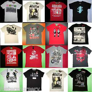 Mens T Shirts Football & Assorted Designs **Sale**