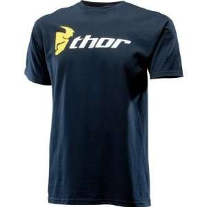 Thor Motocross Loud N Proud T Shirt   XX Large/Navy