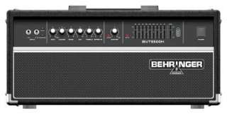 Behringer BVT5500H Classic 450 watt Bass Amplifier Head