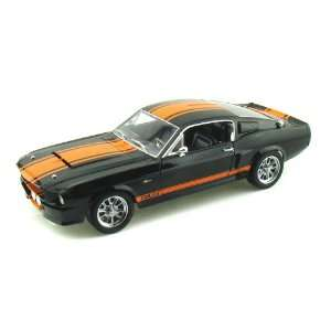 1967 Ford Shelby GT500 Super Snake 1/18 Black w/Orange