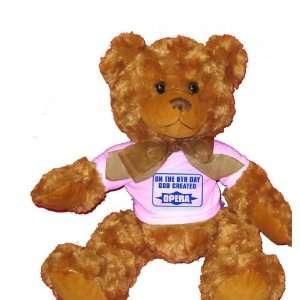 ON THE 8TH DAY GOD CREATED OPERA Plush Teddy Bear with