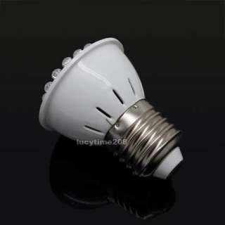 38 LED 1W E27 High Power White Light lamp Bulb 220V ▲