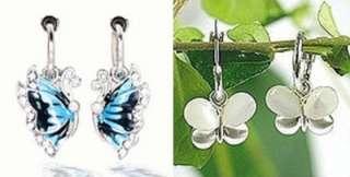1Pair Spring Clip On Hoops Earrings 8 Colors,½ or 13MM
