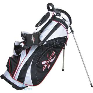 NEW Tour Edge Exotics Xtreme Stand Golf Bag   BLK/WHT
