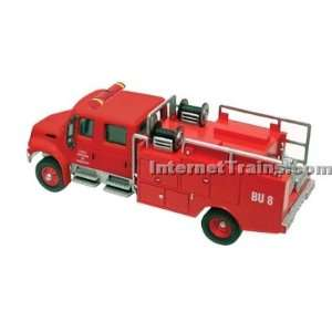 Boley HO Scale International 4300 2 Axle Crew Cab Brush Fire