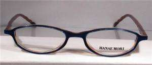 HANAE MORI Women Eyeglasses Frames 7710 Royal TEA