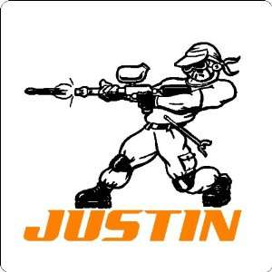 Player Decal Wall Sticker Custom Removable Wall Art