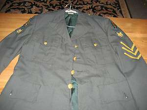 Military Uniform United States U.S. USA Army Jacket Special Forces 7