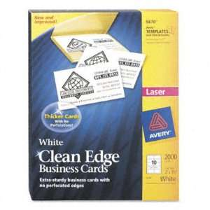 AVE5870   Clean Edge Laser Business Cards Electronics