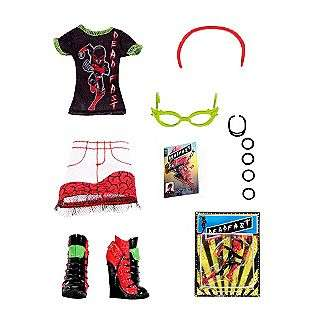 Scream Uniform COMIC BOOK CLUB GHOULIA YELPS  Monster High Toys