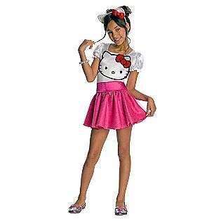 Hello Kitty Tutu Dress Child Costume  Seasonal Halloween Girls