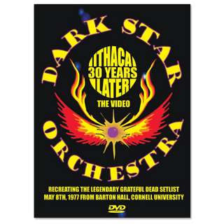 Dark Star Orchestra – Ithaca 30 Years Later   DVD  Shop