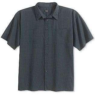 Sleeve Plaid Shirt  Van Heusen Clothing Mens Big & Tall Shirts