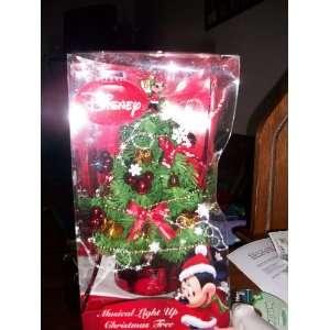 Minnie Mouse Musical Light Up Christmas Tree Disney
