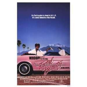 Whoopi Goldberg & Sam Elliott Fatal Beauty 1987 Original Folded Movie