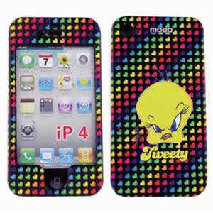Looney Tunes TWEETY BIRD FOR IPHONE 4G AT&T CASE COVER