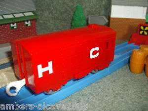 TRACKMASTER/THOMAS/TOMY BOX CAR/FREIGHT WAGON,NEW IN!
