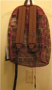 NEW JANSPORT Mesh Backpack Daypack Gym Bag Nice NR NWT