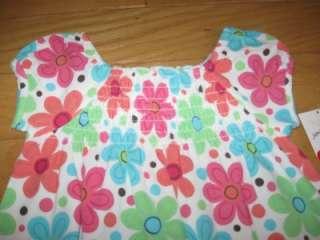 NWT JUMPING BEANS GIRLS 3T White FLORAL Print DRESS SooCUTE
