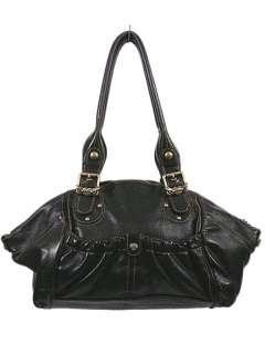 Kathy Van Zeeland Satchel Bag Purse Tote Black