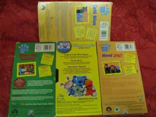 VHS 3 books Birthday Time Crafts Boogie ABCs Joe   PHOTOS